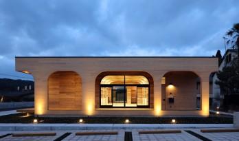 普通材料,新型做法,创造温馨办公空间