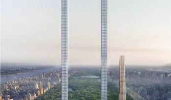 全世界最夸张的摩天大楼方案诞生,它就像一截别针