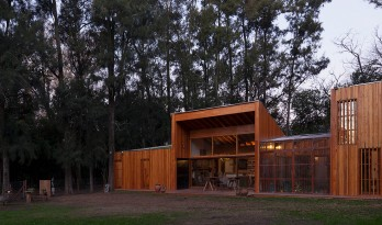 Casa Aa节能住宅——小木屋也可以拥有屋顶花园