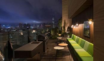 香港旺角屋顶住宅会所设计