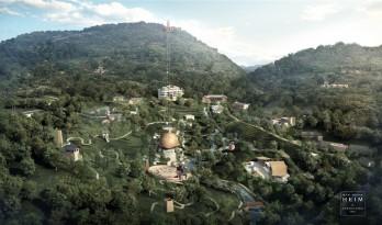 以蚕茧为意,法国建筑师操刀西部乡村改造——砂之船生态旅游度假村