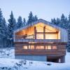 木材结合混凝土,为传统小屋注入现代之魂