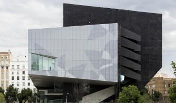 独特的结构造就雕塑般的文化中心