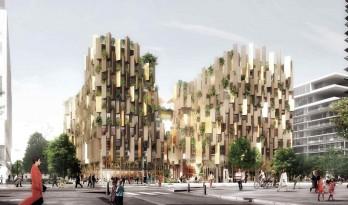 隈研吾在巴黎设计了一栋种满植物的豪华生态酒店