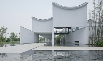 东原千浔社区中心,传统江南建筑的另类演绎 / 山水秀建筑事务所