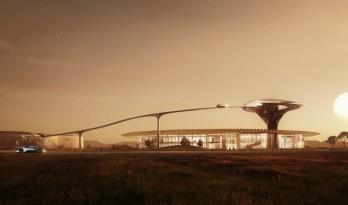 MAD新作曝光:这座建筑属于未来