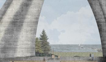 清华大学大三作品赫尔辛基海滨教堂——即便无门无窗,漏风漏雨;吾心归处,便是信仰