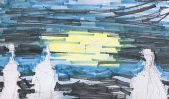 清华大学大师班徐甜甜老师组作品——音乐家海边工作室:极度透明又极度广阔的异质空间