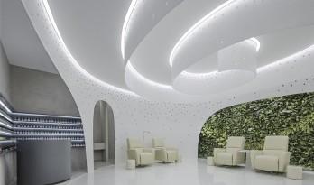螺旋曲线,秘密花园——Lily Nails美甲店 / 建筑营设计工作室