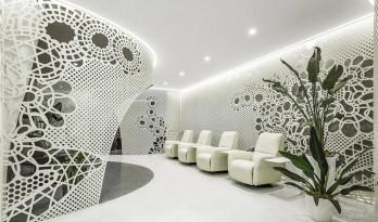 柔性环境,花纹空间——Lily Nails美甲美睫 / 建筑营设计工作室