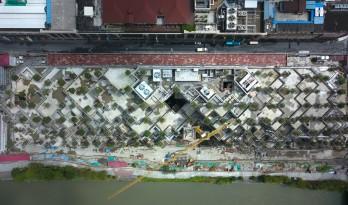 """上海现""""古巴比伦空中花园""""——混凝土打造的奇迹"""
