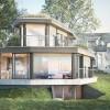 玲珑精致的瑞士住宅,露台上的鸟语花香