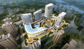 这才是真的「体育公园商业」| 三益设计 · 重庆中建耐德山花商业综合体