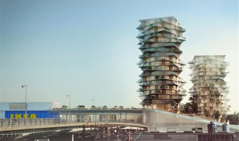 "BIG 新作!哥本哈根中心的""仙人掌""塔楼"