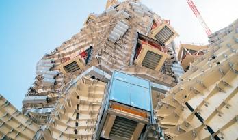 """与山势呼应,由弗兰克·盖里设计的""""山状塔""""正在建造当中"""