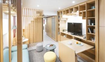 """园林空间的与时俱进,北京卫视 """"暖暖新家""""爆改项目——垂园 / HDD"""