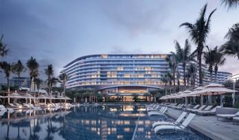 蓝天、碧海、白沙滩:海南蓝湾威斯汀度假酒店