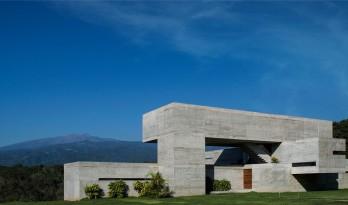山间Oyamel住宅,展现混凝土的原始之美