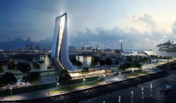 溪流宛转,城市新生——扎哈.哈迪德建筑事务所赢得塔林港口的竞赛项目