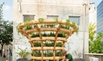 可移动的迷你农场,自由组合的立体花园