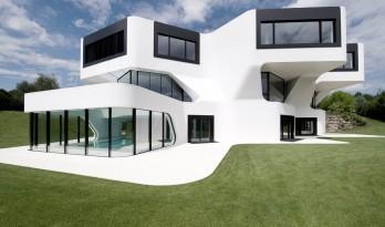 让建筑拥有雕塑感:德国Dupli私人别墅
