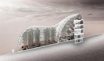 """""""新家园""""——火星上的生态栖息地"""