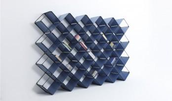 简洁又方便的收纳系统——+x书架 / 众建筑设计