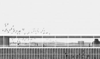 经验 |  建筑立面黑白系拼贴