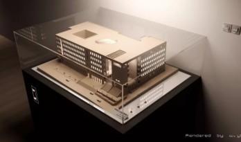 经验 | 大学建筑系馆模型感渲染