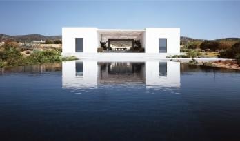 掩映于地景,与水天相接的H_orizon住宅