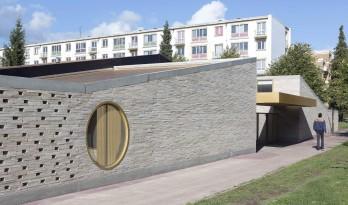 兼顾开放和私密性的学校扩建项目