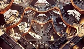 """震惊全球备受争议的巨型建筑""""Vessel""""已经施工过半!"""