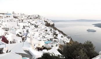 圣托里尼岛上的白房子们,你亲妈Kapsimalis都快认不出来了好吗?