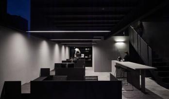 墨色显影—— BOMBO OFFICE / 禾睿设计