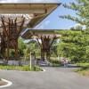 印第安纳波利斯动物园周年纪念亭和长廊景观