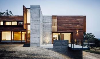 将材质发挥到极致——Invermay住宅 / Moloney Architects