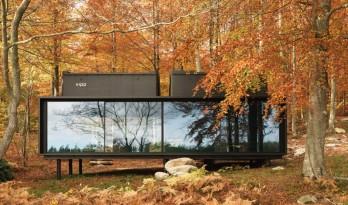 地为席来天为被,日月星辉入梦来,丛林集装箱——丹麦Vipp旅馆