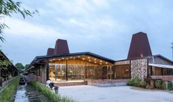 会飞的猪——华腾猪舍里展厅 / 上海以靠建筑设计事务所