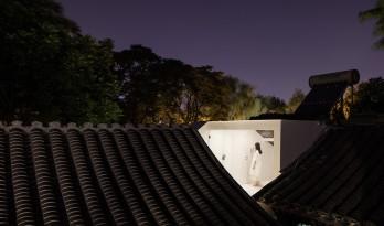 """捏造的风景——北京后海""""嵯峨馆"""" ,一座西厢房的空间把戏 / 神奇建筑研究室"""