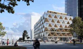"HPP 新作——杜塞尔多夫媒体港办公楼,现实中的""纸牌屋""长什么样?"