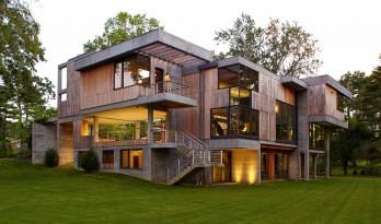 残木打造的裁缝之家——有什么材料会比混凝土更能对抗飓风呢?