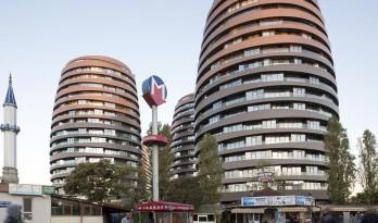 椭圆形式下的住宅群 / DILEKCI Architects