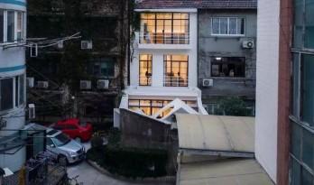 他把上海市中心240㎡小区老房,改成爆美别墅!