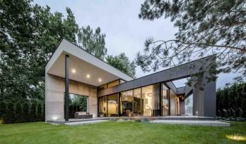 线面结合,棱角分明,构成感十足——FIL住宅