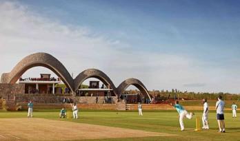 土生土长的本土建筑:卢旺达板球馆