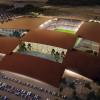 大地上的拼盘游戏——东奥斯丁区体育馆 / BIG