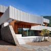 缎带状混凝土屋檐——W住宅