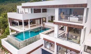 仿佛跳进泳池就可以一直游到大海尽头:梅苏岛Samui 180号住宅