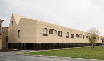 """为19世纪老建筑装个""""假肢""""—— 西班牙精神病治疗中心"""