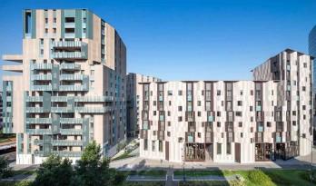 造型独特、材料丰富——赋予城市新活力的米兰Novetredici住宅综合体
